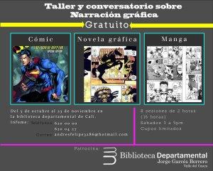 taller y conversatorio sobre narracion grafica
